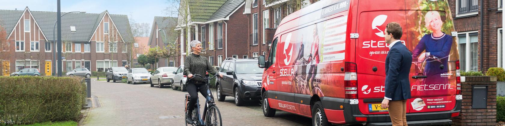 Elektrische fiets uitproberen