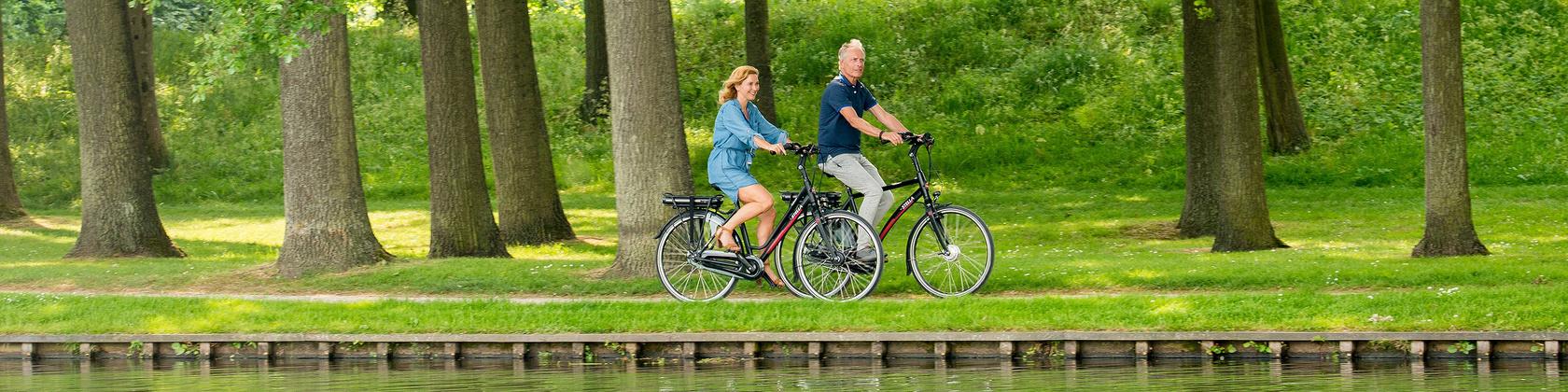 Stella's fietsroutes in Drenthe