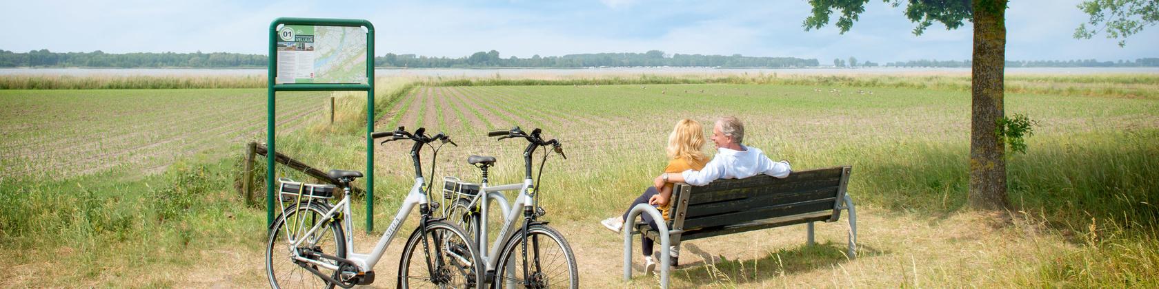 Stella's fietsroutes in Gelderland