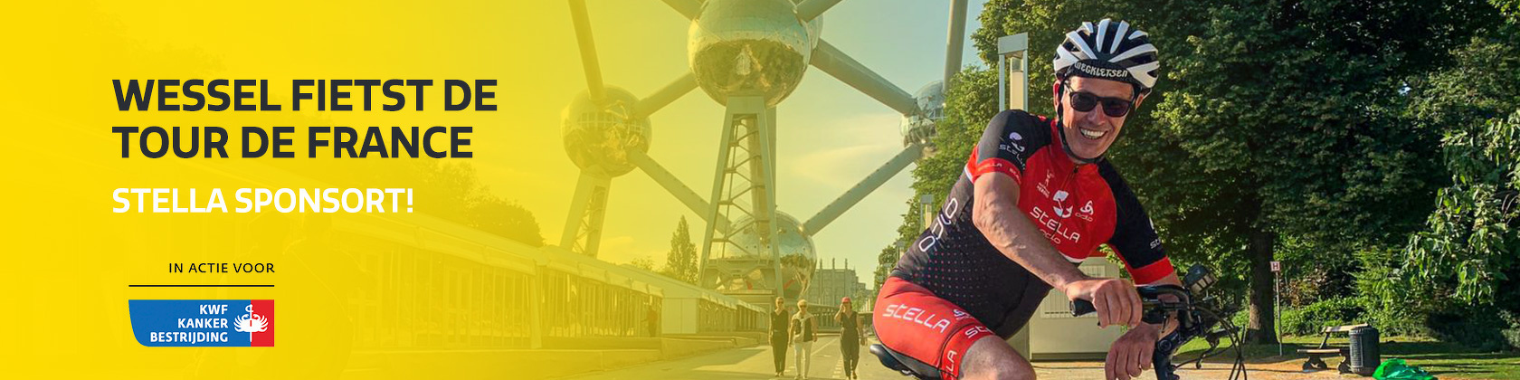 Wessel fietst de Tour de France