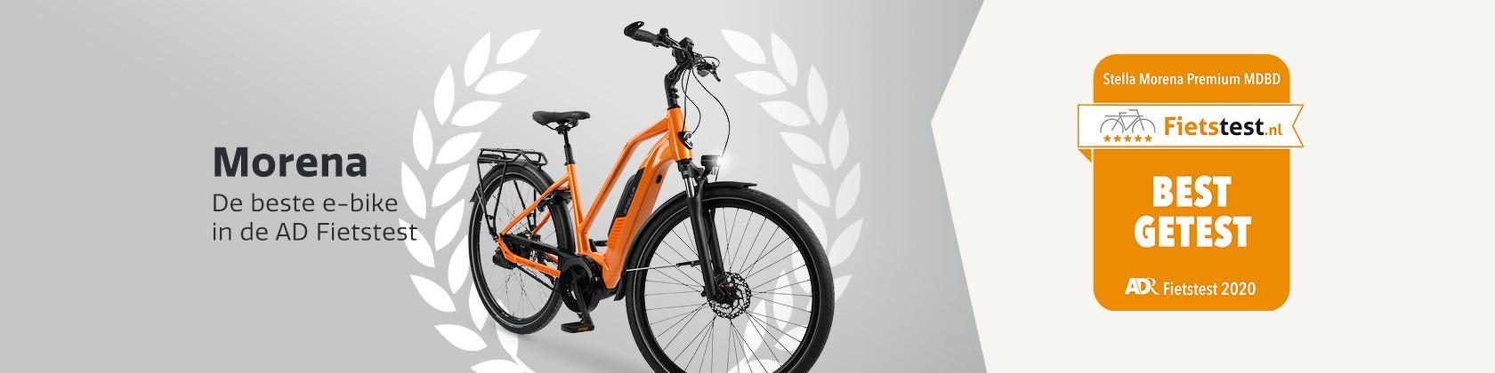 Stella Morena - De beste e-bike in de AD fietstest