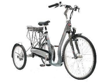 Laat uw elektrische fiets tot driewieler ombouwen