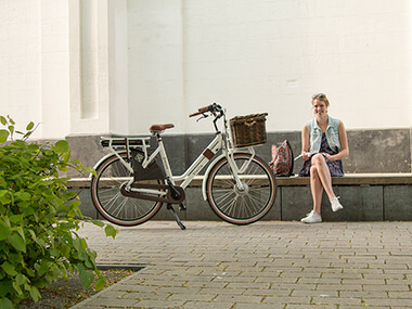 Jeugd stapt steeds vaker op hippe E-bike