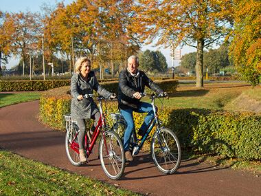 Steeds verder en vaker op de fiets