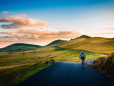 Met een e-bike in de bergen