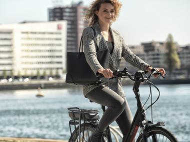 Waarom een e-bike gezonder is dan een 'gewone' fiets