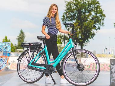 Imago e-bikes hipper, ook onder studenten!