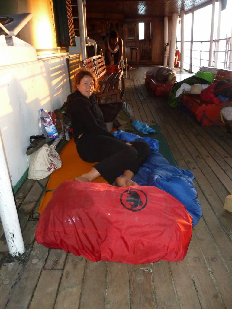 Slapen op de Ilala Ferry