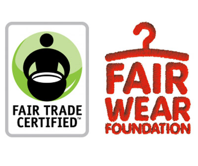 Fair Trade Certified en Fair Wear Foundation