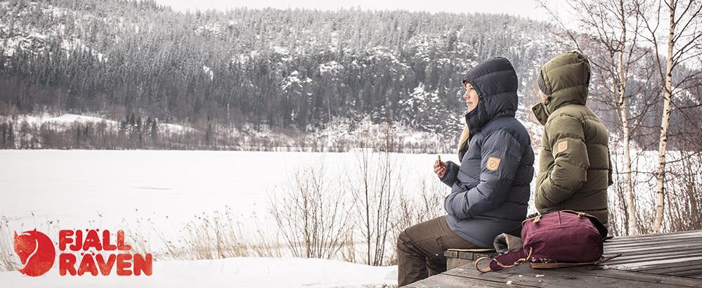 Warme winterjassen van Fjällräven