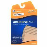 2nd Skin Sport Adhesive Knit Afdekpleisters