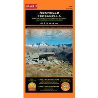 4LAND Wandelkaart 138 Adamello - Presanella