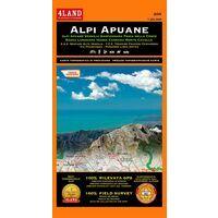 4LAND Wandelkaart 200 Alpi Apuane 1:25.000