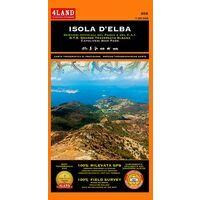 4LAND Wandelkaart 202 Isola D'Elba