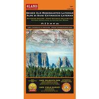 4LAND Wandelkaart 181 Alpe Di Siusi - Rosengarten