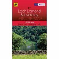 AA Publishing Topografische Kaart 27 Loch Lomond