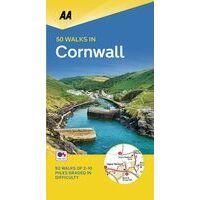AA Publishing Wandelgids 50 Walks In Cornwall