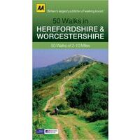 AA Publishing 50 Walks In Herefordshire & Worcestershire
