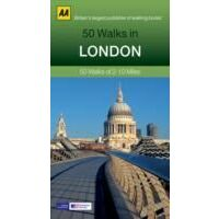 AA Publishing 50 Walks In London
