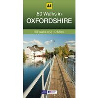 AA Publishing Wandelgids 50 Walks In Oxfordshire