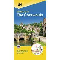 AA Publishing Wandelgids 50 Walks In The Cotswolds