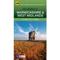 AA Publishing 50 Walks In Warwickshire & The West Midlands