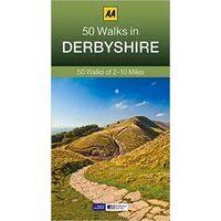 AA Publishing Wandelgids 50 Walks In Derbyshire