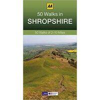 AA Publishing Wandelgids 50 Walks In Shropshire
