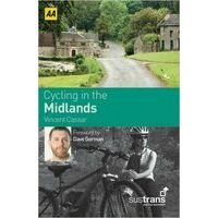 AA Publishing Cycling In Britain Midlands