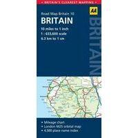 AA Publishing Wegenkaart Groot-Brittanië