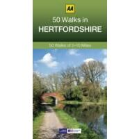 AA Publishing Wandelgids 50 Walks In Hertfordshire
