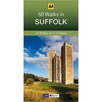 AA Publishing Wandelgids 50 Walks In Suffolk