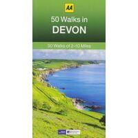 AA Publishing Wandelgids 50 Walks In Devon