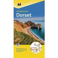 AA Publishing Wandelgids 50 Walks In Dorset