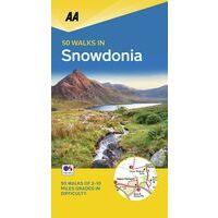 AA Publishing Wandelgids 50 Walks In Snowdonia & North Wales