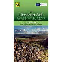 AA Publishing Wandelkaart 29 Hadrian's Wall 1:25.000