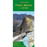AB Kartenverlag Wandelkaart Fogo & Brava
