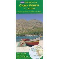 AB Kartenverlag Wegenkaart Cabo Verde - Kaapverdië