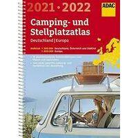 ADAC Camping- Und Stellplatzatlas Deutschland - Europa