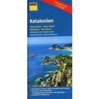ADAC Campingkaart Catalonië