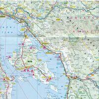 ADAC Campingkaart Kroatische Kust