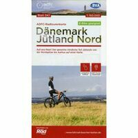 ADFC Radtourkarte Fietskaart 1 Jutland Noord (Denemarken)