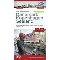 ADFC Radtourkarte Fietskaart Kopenhagen - Seeland (Denemarken)