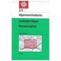 Alpenvereinskarte Wandelkaart 3/3 Lechtaler Alpen