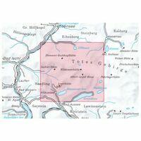 Alpenvereinskarte Wandel-skikaart 15/1 Totes Gebirge West