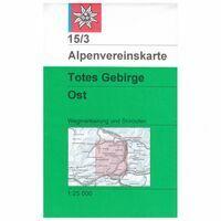Alpenvereinskarte Wandel-skikaart 15/3 Totes Gebirge Ost