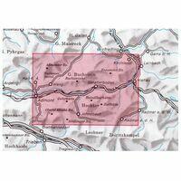 Alpenvereinskarte Wandel-skikaart16 Ennstaler Alpen Gesäuse
