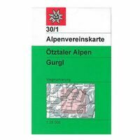 Alpenvereinskarte Wandelkaart 30/1 Ötztaler Alpen