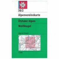Alpenvereinskarte Wandelkaart 30/2 Ötztaler Alpen
