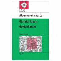 Alpenvereinskarte Wandelkaart 30/5 Ötztaler Alpen